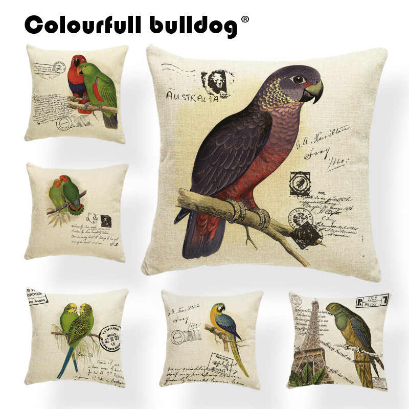 Detail Feedback Questions about Vintage Cushion Cover Letter Word ...
