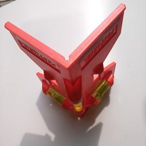 Image 4 - Cilindro dobrável, nível magnético de alta precisão, tubo de alta precisão, mini nível de bolha, para tubo, instalação de pilares de madeira