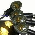 2x Fumaça Sinais de Volta Indicadores Luz Para Honda CB600 CB900 Hornet CBR600 CBR1000RR WLEIO487 (3 fios)