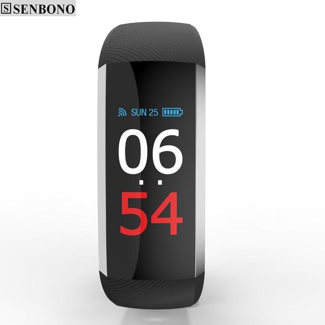 7e2fd4f9a63d SENBONO G19 Fitness pulsera pulsómetro Smart relojes presión arterial  Fitness pulso reloj Monitor Pedometer Smart Band