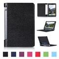 Venda quente pu leather case capa suporte para lenovo yoga tab 3 YT3-X50F YT3-X50L YT3-X50M X50L X50F Casos Tablet PC Frete Grátis