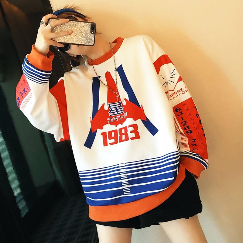Coreano Felpa Harajuku Grandi Spessore Dimensioni Di Donne Allentato Delle Inverno Felpe Ordine Plus Lq459 As Autunno Vestiti Shown Nuovo Size Su 6qnzza