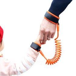 Crianças Cinto de Segurança da criança harness Criança Pulso Coleira Anti-lost Link Pulseira Cinto de Crianças Andando Assistente Bebê Walker