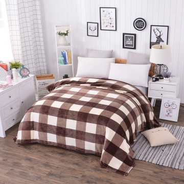 03 single for child plaid plaids fleece american flag baby h blanket on the bed microfiber bedspread summer single
