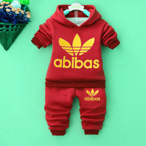 Hooded Pullover   Pants 2 pcs Children Set New Fashion Baby Boy ...