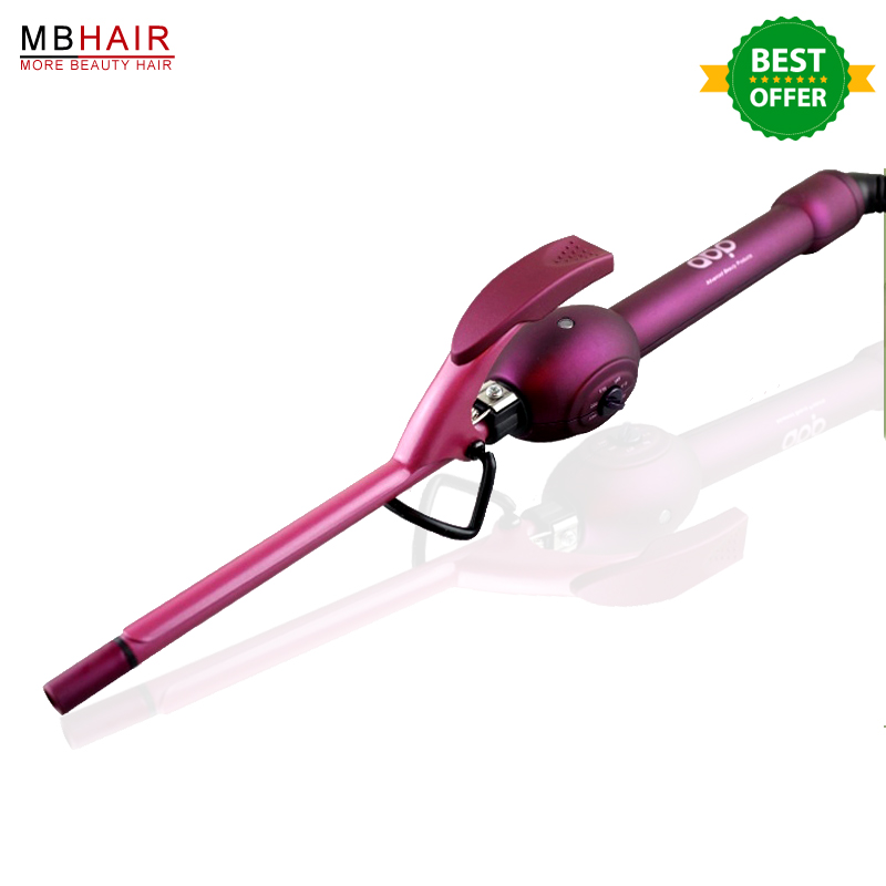 Profesional Hair curler men hairstyles best curling hair stick ultrafine 9mm deepwave curling hair curlers stick finest finest