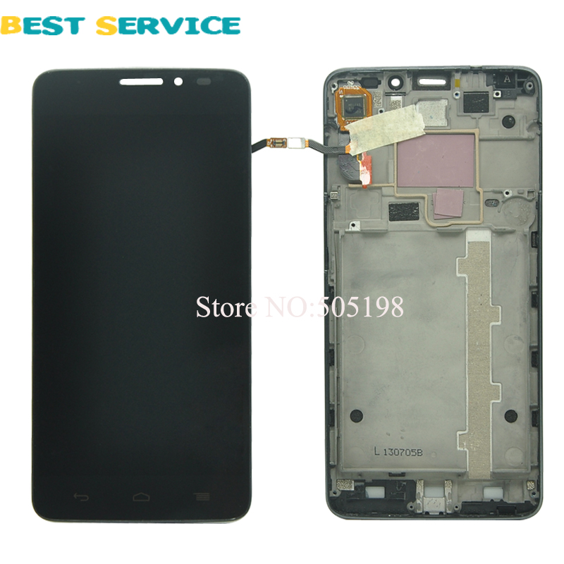 FOR Alcatel One Touch Idol X OT6040 6040 6040D 6040E OT-6040D LCD Screen Display + Touch Screen Digitizer Assemblely with Frame