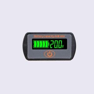 Image 3 - Indicateur de capacité de batterie au Lithium réglable 2 S 3 S 4 S 5 S 7 S LY7 12 V 24 V acide de plomb Li ion testeur de voltmètre ebike LCD