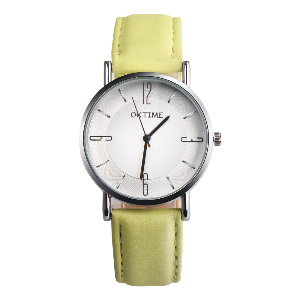 Aimecor Quartz Wristwatches Women Watches Fashion Couple Design Leather Band Analog Alloy Montre Femme Y1129
