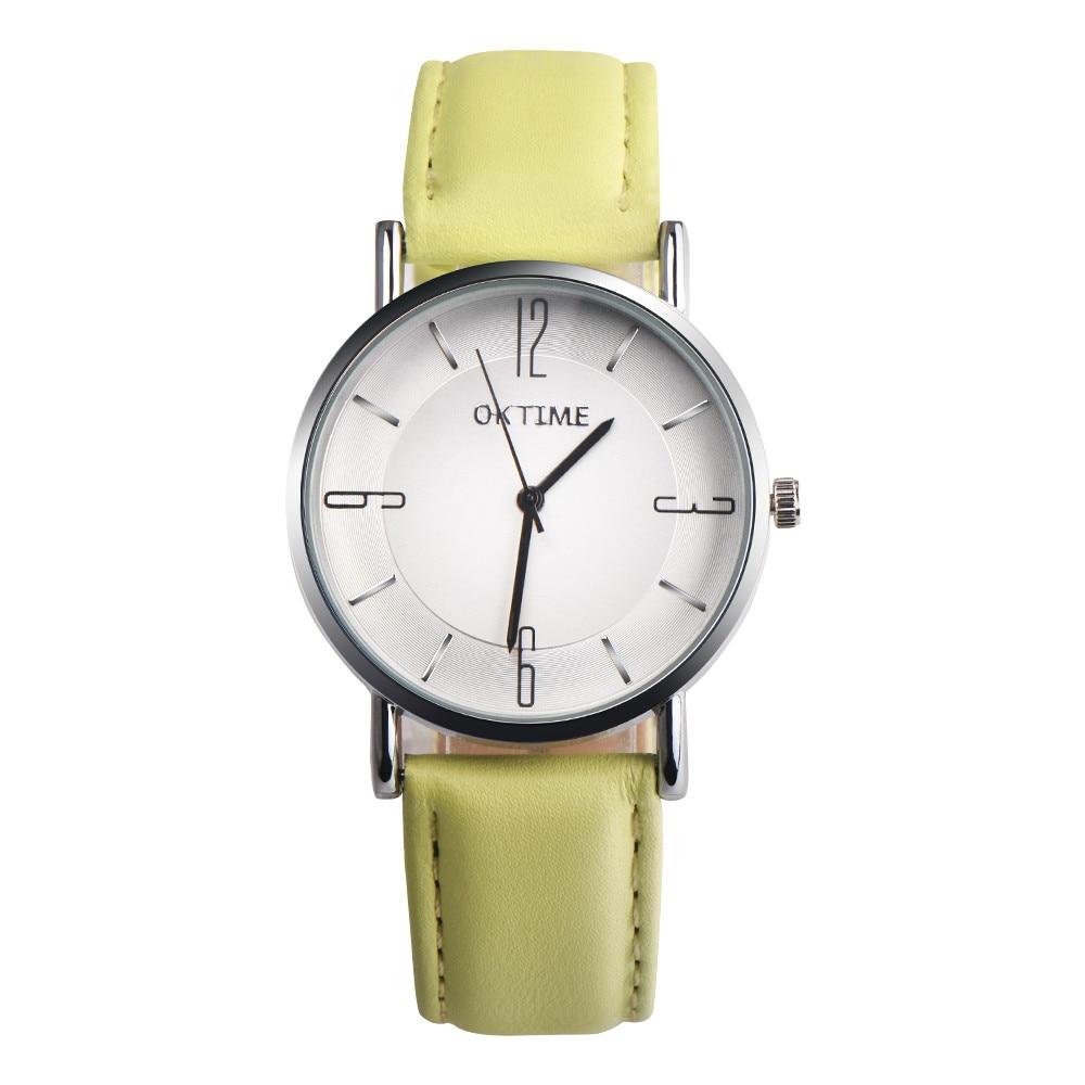 Aimecor Quartz Wristwatches Women Watches Fashion Couple Design Leather Band Analog Alloy Montre Femme Y1129