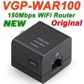 Vgp-war100 menor 150 mbps roteador sem fio portátil mini wifi router ap access point para sony vaio oem viagens multi-língua