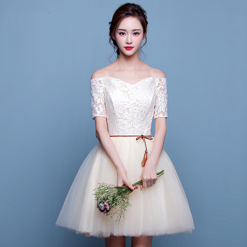 prom dresses korean