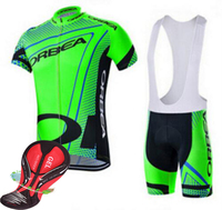 100 Polyester Quick Dry Breathable Fluorescent Green Orbea Bike Jersey Ropa Ciclismo Bike Bicycle Dress Clothes
