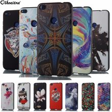 Back Cover For Huawei Honor 8 Lite Case Relief Protective Phone Housing Painting Soft Silicon TPU Case For Huawei P8 Lite 2017(China)