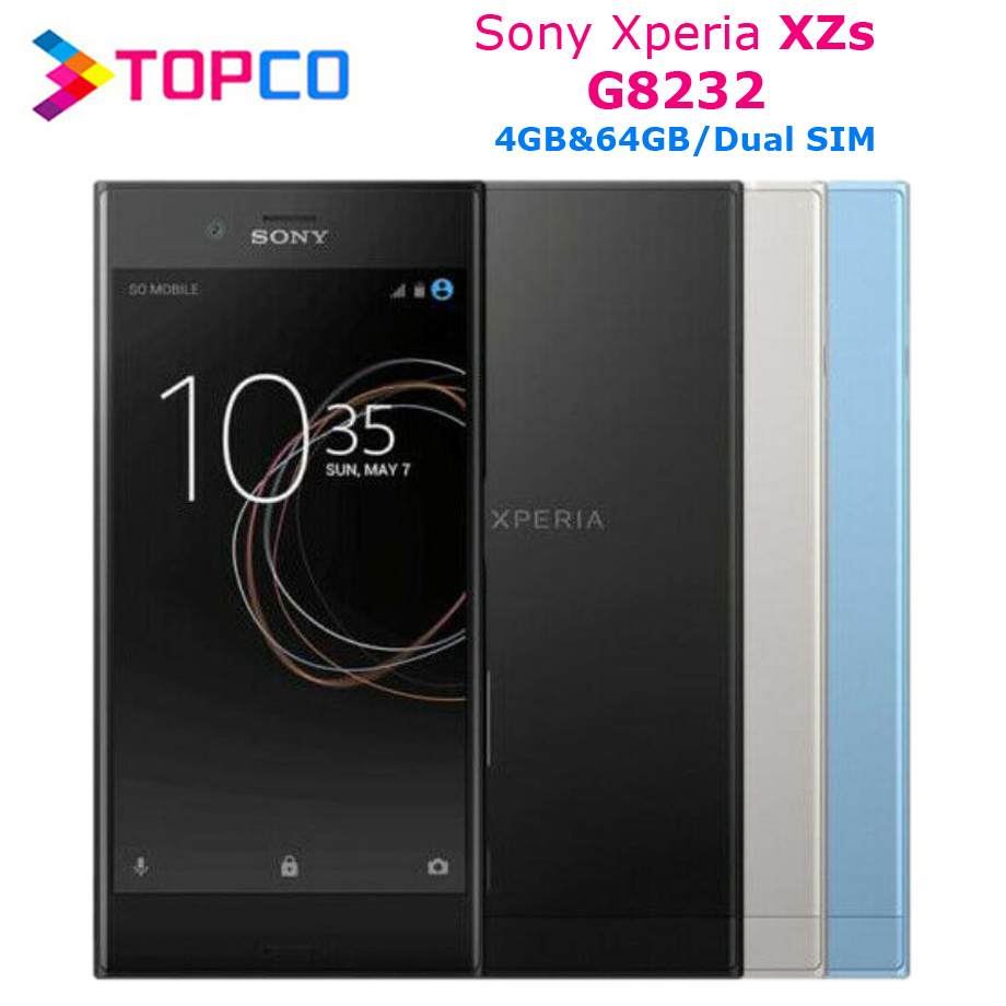 Sony Xperia XZs G8232 Original Unlocked 4G LTE Android Mobile Phone Quad Core 5.2