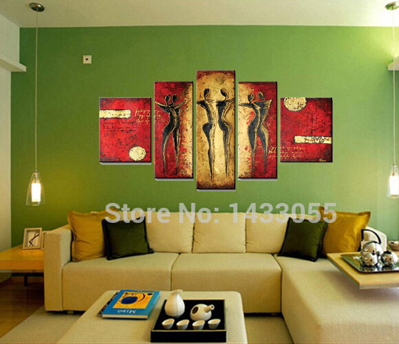 Handmade Oil Painting On Canvas Wall Art Home Decor For Living Room ...