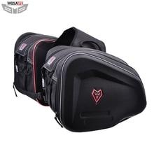 Menat Motorcycles Saddle Bags 36-55L Waterproof Double MOTO Racing Travel Luggage Helmet Bag for Honda Yamaha Suzuki