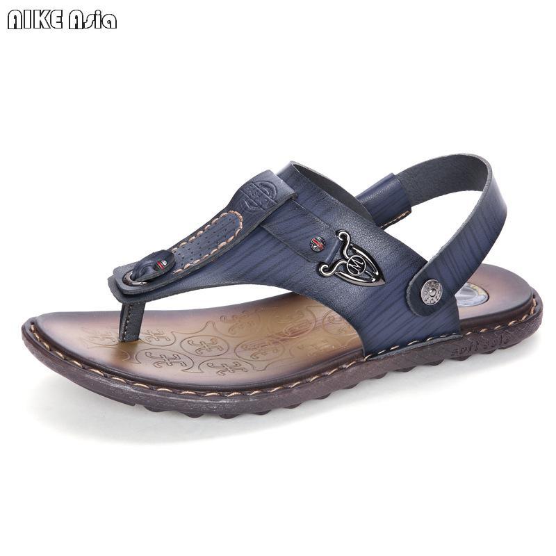 936775fc0d1a AIKE Asia2018 new flip flop men s beach shoes new design men s thong sandals  brand casual shoes men-in Men s Sandals from Shoes on Aliexpress.com