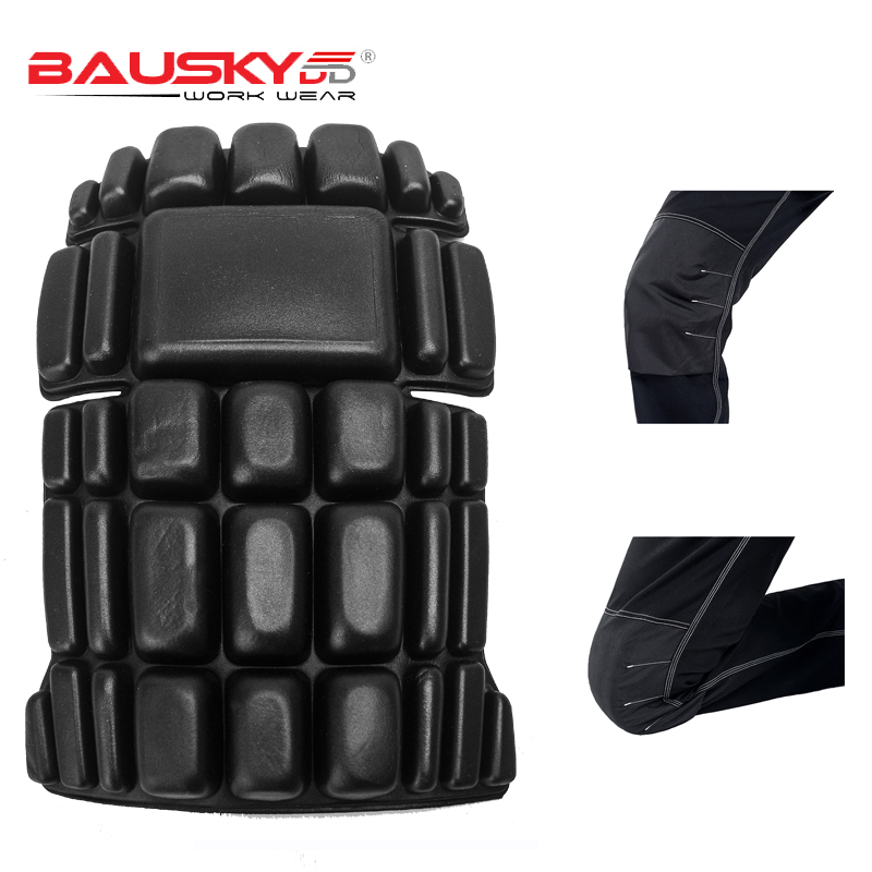 Bauskydd CE Eva Knee Pads For Work Kneelet For Work Pants Genouillere Knee Protective Free Shipping