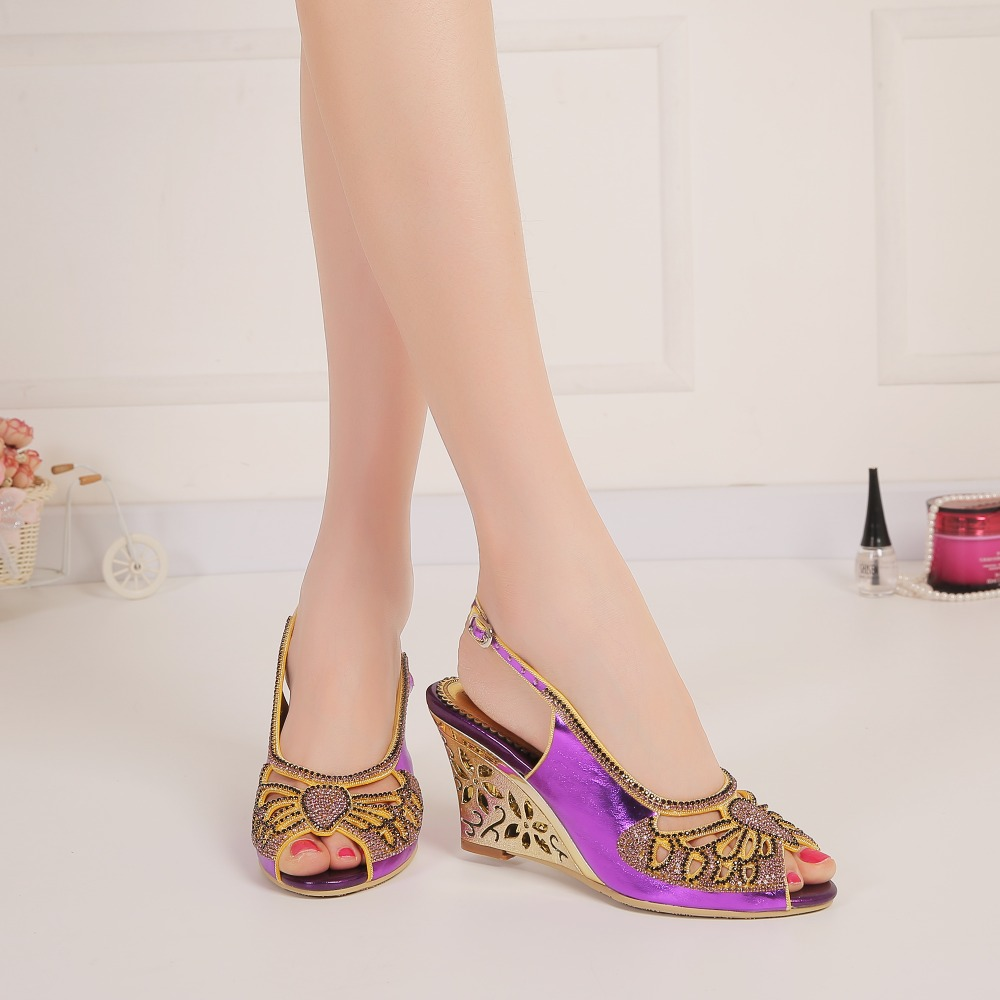 Spring/summer 2017 new bow-knot hollowed-out water drill sandals, fish-mouth stilettos and sandals, large size high heels free shipping 2016 the new spring and summer with thick waterproof sandals heels womens casual shoes mouth size small code 32 43