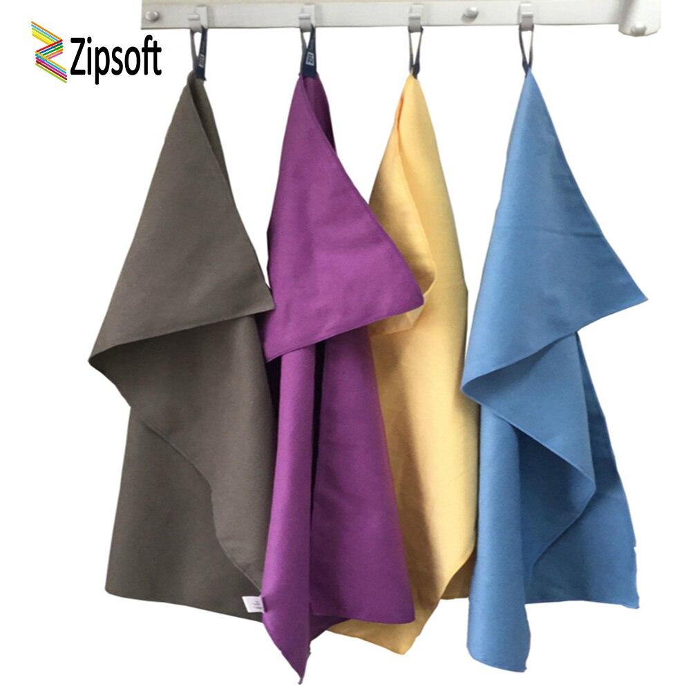 Zipsoft 2 Pcs Sport towel Beach towels special thick 2018 microfiber Bath Swimming Hiking camping trip Travel Atletico de madrid