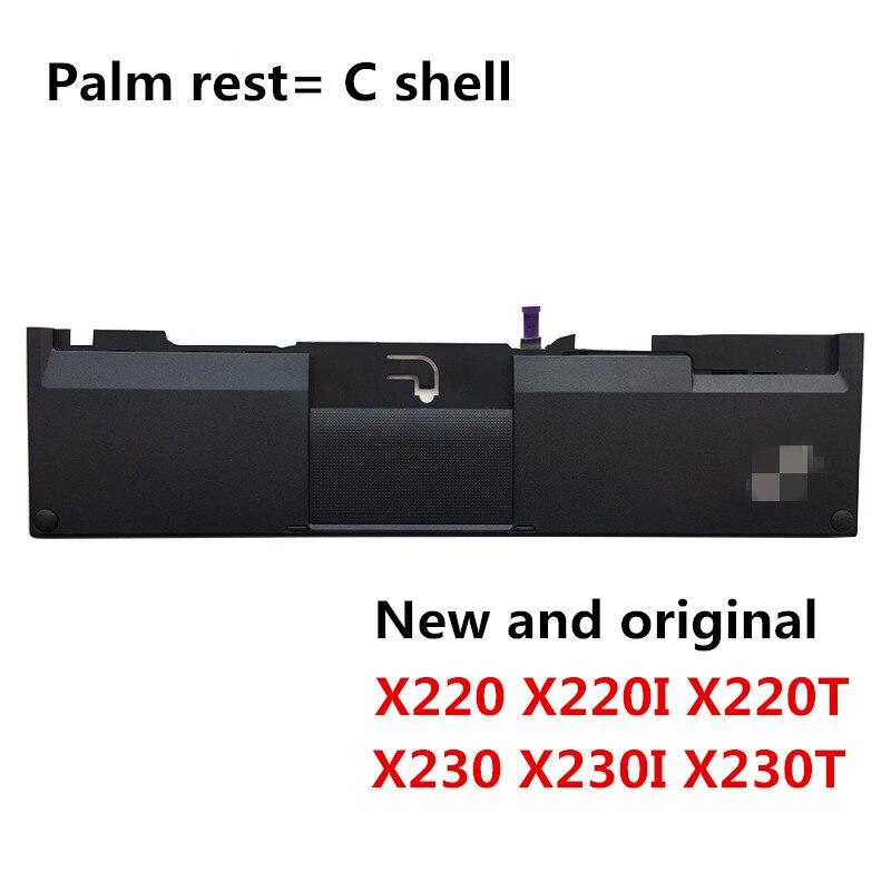 New Original Palmrest Cover for Lenovo Thinkpad X220 X220I With Fingerprint and Touch Pad Genuine X220 Palmrest