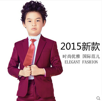 635c8d1cf 2015 fashion baby purple red casual blazers jackets boys suits for ...