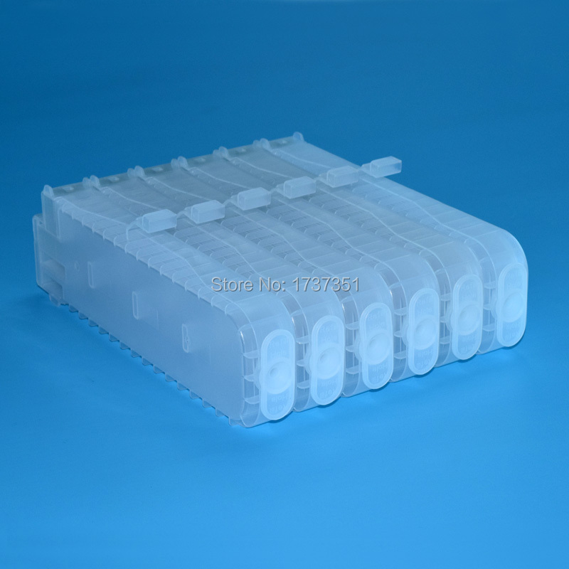 PFI-107 refill ink cartridge with one time chip for Canon ipf670 ipf680 ipf685 ipf770 ipf785 inkjet printer