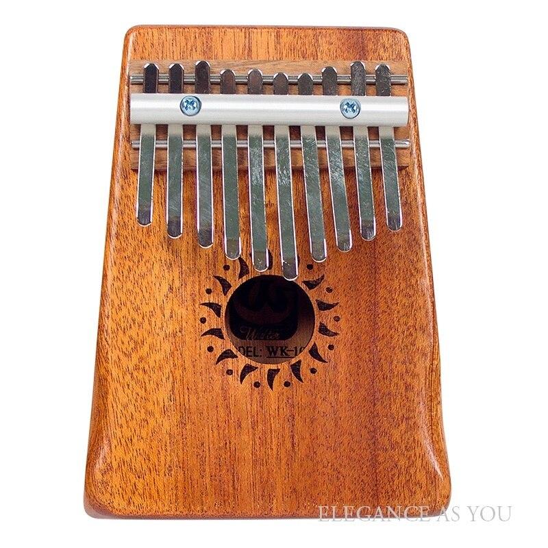 Houten KALIMBA 10 toetsen thumb piano kinderen verlichting muziek instrument Kalimba 17 toetsen Afrikaanse etnische instrument 17 knoppen - 2