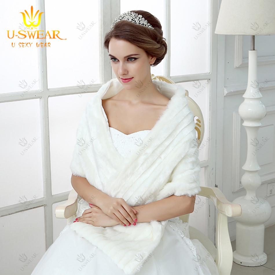 coprispalle mariage blanc fourrure bolro en fausse fourrure marie cape plus la taille dentelle bolero - Bolero Mariage Blanc