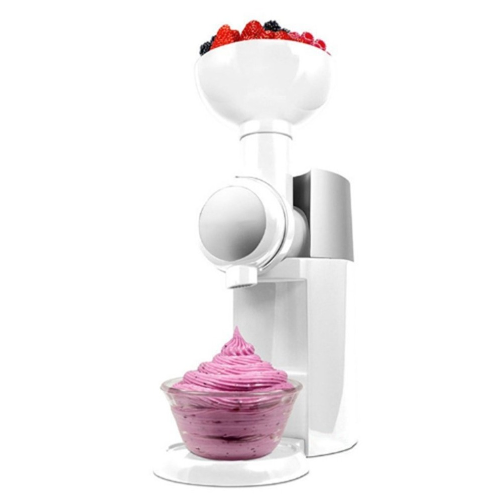 220V /110V Automatic Frozen Fruit Dessert Machine Fruit Ice Cream Machine Maker Milkshake Machine Freezer Slush Machine220V /110V Automatic Frozen Fruit Dessert Machine Fruit Ice Cream Machine Maker Milkshake Machine Freezer Slush Machine