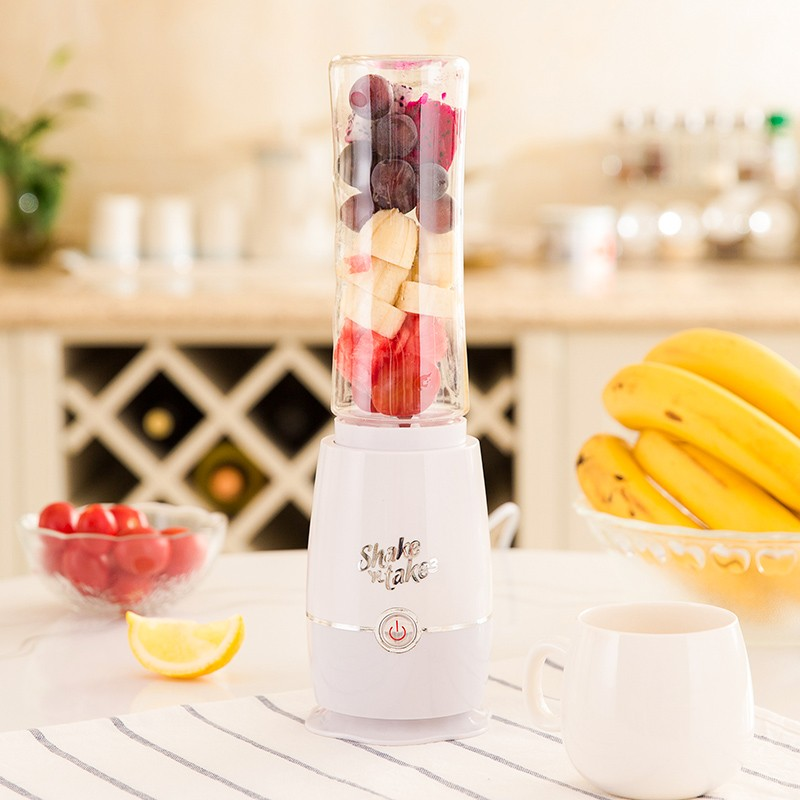 220V 500ML Mini Multifunction Portable Electric Fruit Vegetable Juicer Food Mixer Automatic Bottle Juicer Cup EU/AU/UK Plug цена