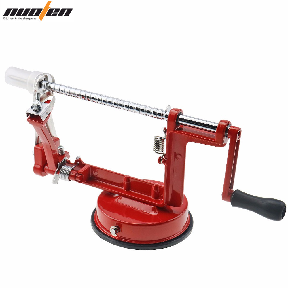 Nuoten Brand 3 in 1 Apple Slicing Machine Aluminum Alloy Fruit Peeler Tool Easy And Fast To Use Kitchen Accessories