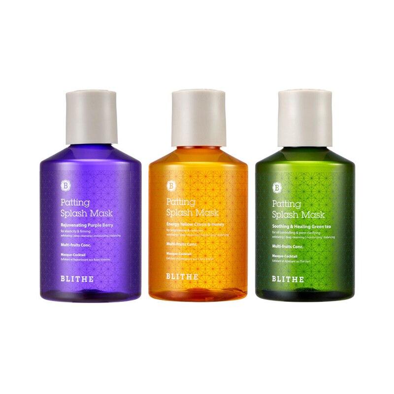BLITHE Patting Splash Mask 200ml Face Maks Serum Soothing Skin Energy Rejuvenating Facial Care Korea s