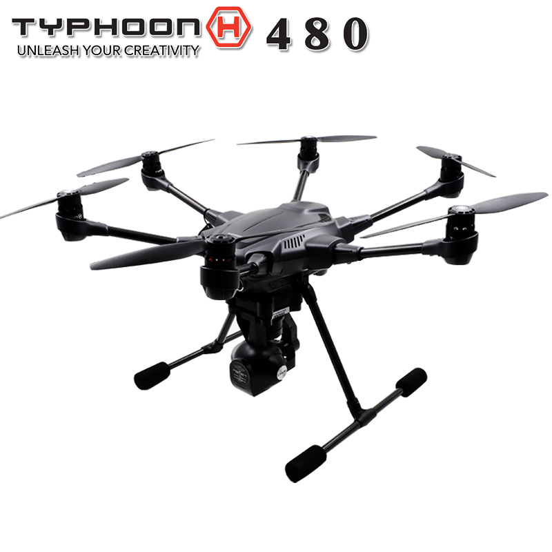 2017 Yuneec Typhoon H 480 Drone with Camera HD 4K RTF RC Quadcopter Helicopter 3Aixs 360 Rotation Gimbal vs DJI Phantom 4 pro