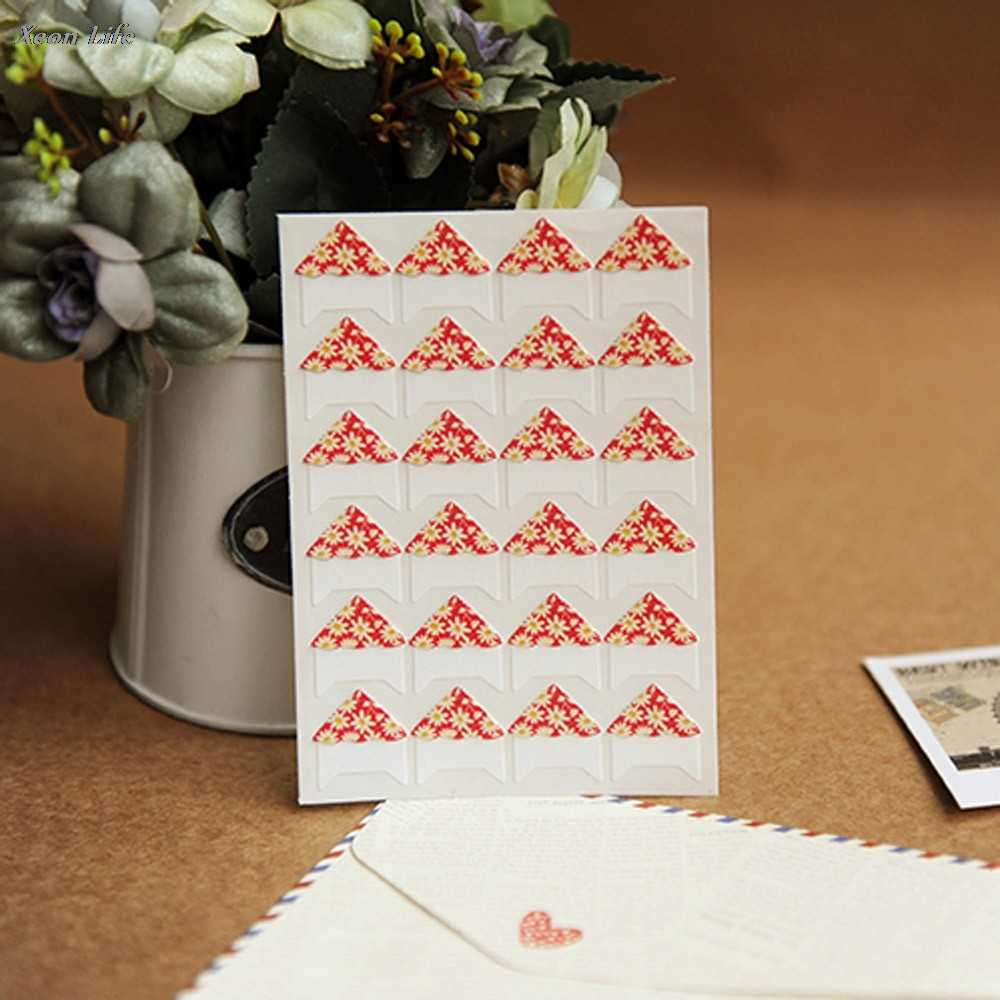 ZMHEGW DIY חם רצועת פינת אלבום תמונות ויסקוזה רעיונות קישוט מדבקות נייר קראפט אלבומים תמונות DIY מוקדש הולם
