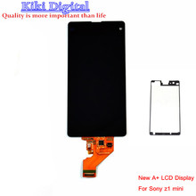 Original LCD For Sony Xperia Z1 Mini Compact D5503 M51W LCD Display Touch screen with digitizer assembly + Adhesive sticker