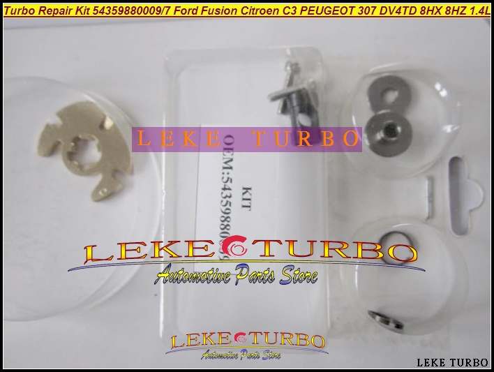 Free Ship Turbo repair kit KP35 09 54359880009 54359700009 For Ford Fiesta For Peugeot 206 For Citroen C3 For Mazda 2 DV4TD 1.4L free ship turbo k03 29 53039700029 53039880029 058145703j n058145703c for audi a4 a6 vw passat 1 8t amg awm atw aug bfb aeb 1 8l