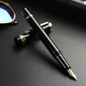 Image 2 - 2020 modelo Wing Sung 698 pistón pluma negra M Nib (0,7mm) Papelería de negocios suministros de oficina y Escuela regalo de escritura