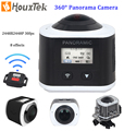 Новый 360 Камера Ultra HD 4 К Панорамная Камера 2448*2448 P WI-FI 360 Градусов Видеокамера Спорт Водонепроницаемая и Действия Вождения VR камера