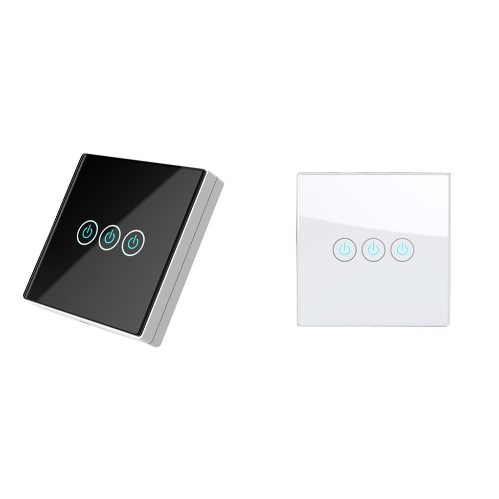 Sans fil tactile télécommande panneau mural interrupteur sans fil récepteur maison chambre plafonniers lampes Modification