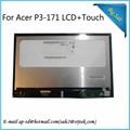 Mejor Calidad P3-171 B116XAT03.1 Para Acer Aspire P3 171 Pantalla LCD con Pantalla Táctil Digitalizador Pantalla Sensor de Montaje Completo
