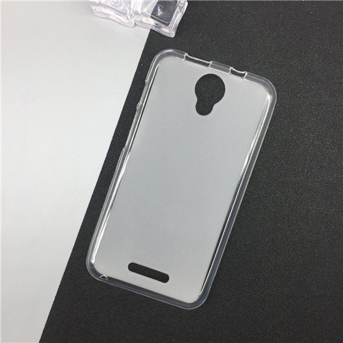 1 Pc/lot Silicone Phone Cases for Alcatel One Touch Pixi 4 5.0 3G Version OT 5010 5010D Original TPU Back Cover Pudding Case Capa Clear - intl