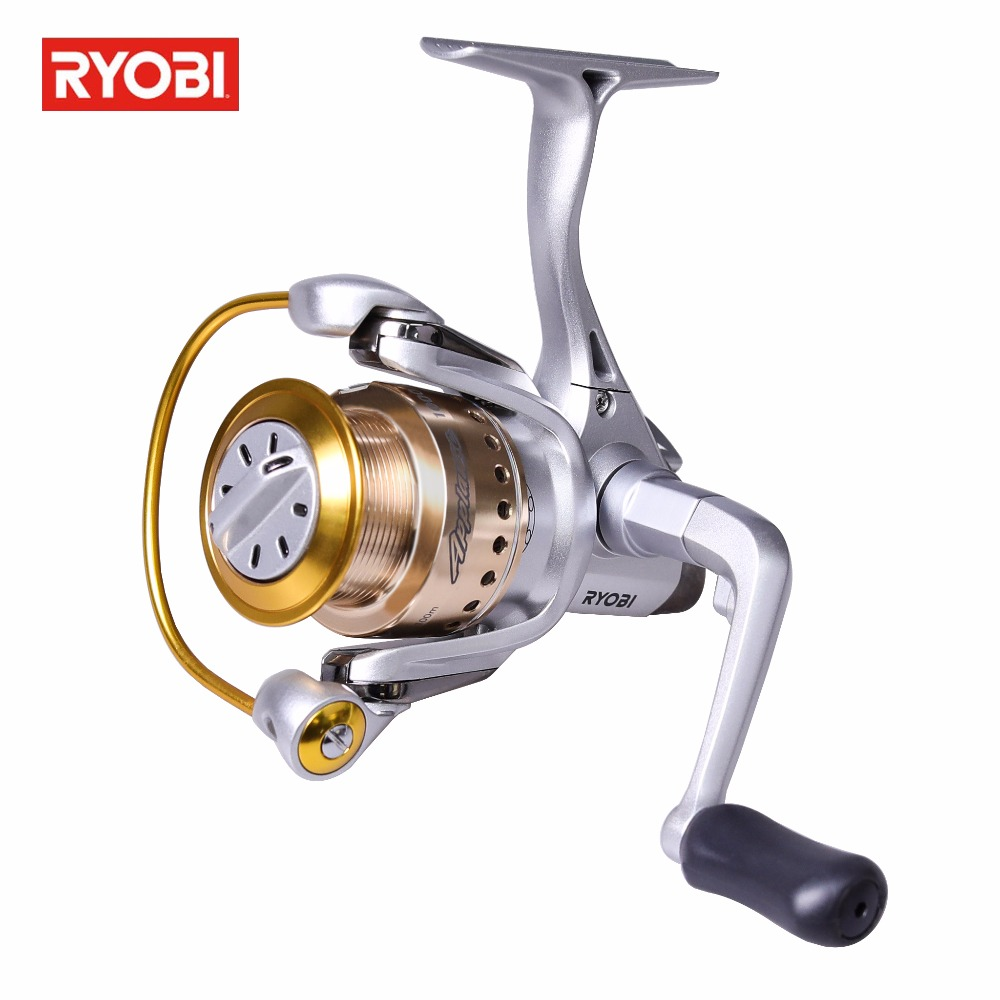 RYOBI APPLAUSE Full Aluminium Reel Molinete 6+1BB Carretilha De Pesca 5.1:1 Spinning Fishing Reel 12 1bb 6 3 1 left right hand casting fishing reel cnc fishing reels carp bait baitcasting carretilha de pesca molinete shimano