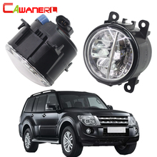 Cawanerl For Mitsubishi Pajero IV Van V80 V90 Box 2007 2012 Car LED Fog Light 4000LM