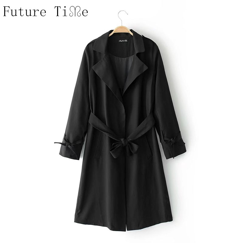 Future Time font b Women b font Windbreaker Long Sleeve Cardigan font b Jackets b font