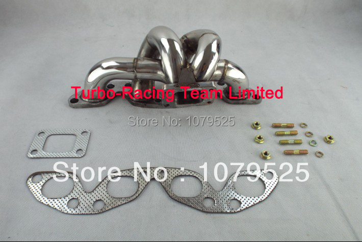 NISSAN SUNNY PULSAR GTiR 2.0 N14 TURBO STAINLESS STEEL TUBULAR EXHAUST MANIFOLD
