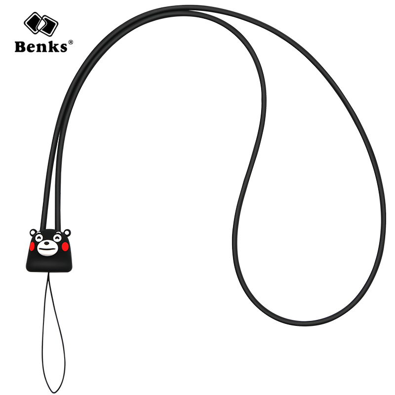 For iphone 8 plus phone lanyard For Samsung Cute phone