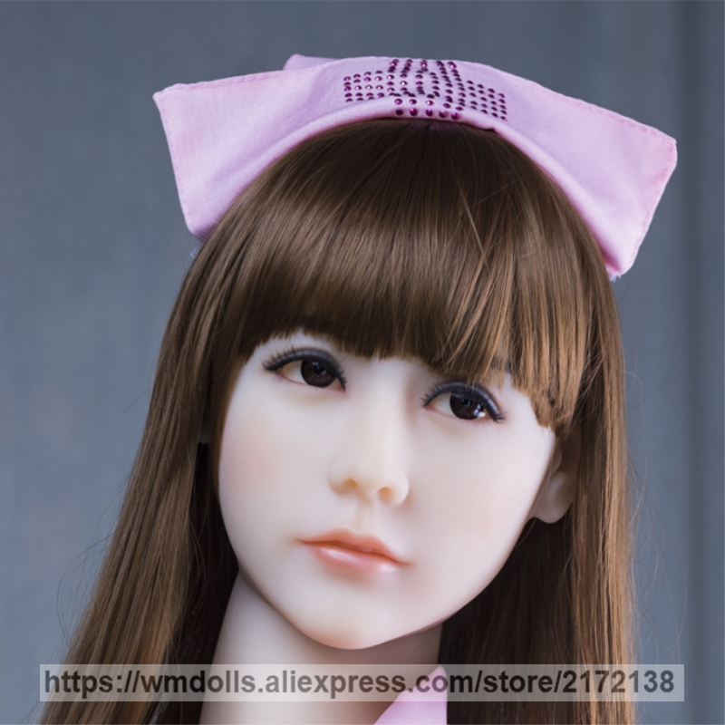 WMDOLL Real Sex Dolls Head Sex Oral Realistic Silicone Japanese love Doll Heads WMDOLL Real Sex Dolls Head Sex Oral Realistic Silicone Japanese love Doll Heads