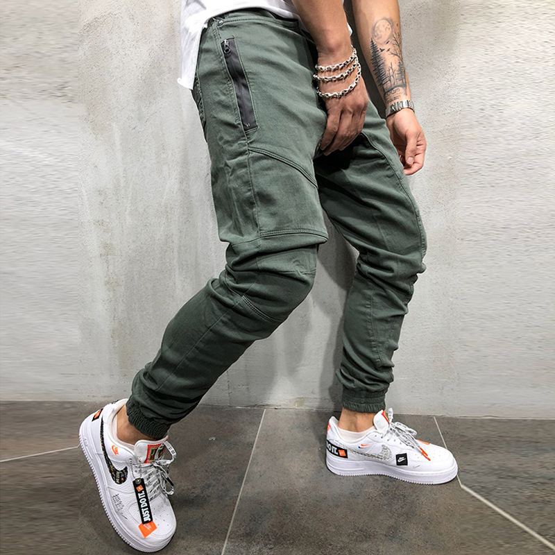 Mens Brand Sweatpants Man Fashion Casual Gyms Workout Fitness Sportswear Pencil Pants Cotton Ttrousers Male Joggers Track Pants